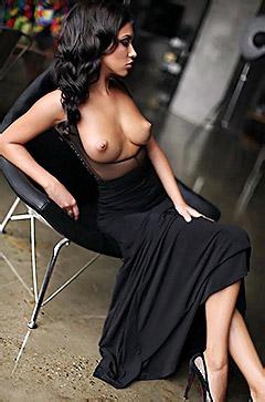 Elegant Brunette