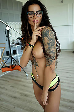 Sexy Tattooed Babe