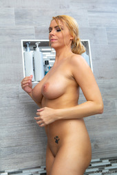 Kylie K In Hot Shower